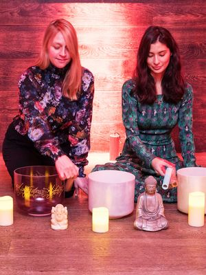This 60-Minute Sound Bath Session Will Chill You the F*ck Out