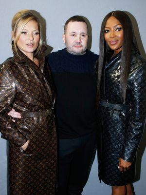 Kate Moss and Naomi Campbell Reunited on the Runway for a Special Reason