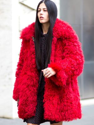 Stand Out This Winter With One of These Bright Coats