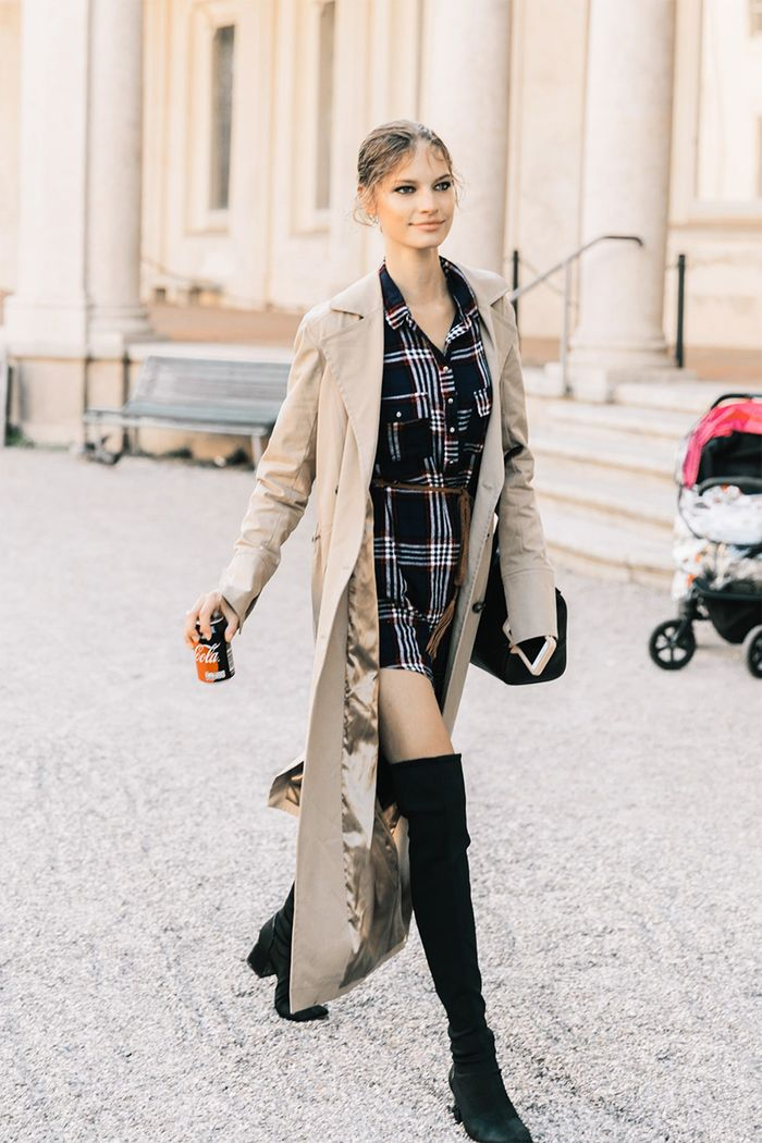14 Perfect Trench Coat Outfits Who What Wear