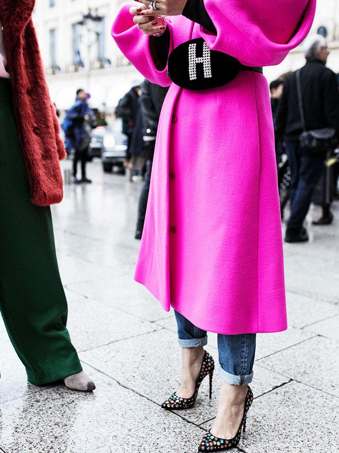 All the jaw dropping street style looks direct from for Haute couture style