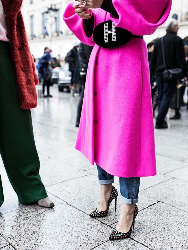 Haute Couture Fashion Week street style January 2018