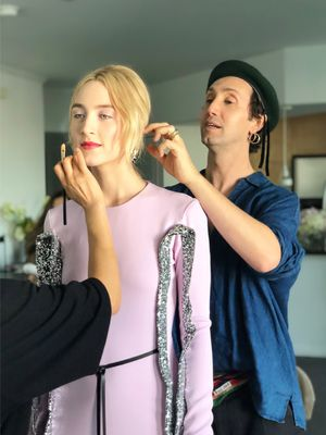 Exclusive: Getting Ready for the SAG Awards With Saoirse Ronan
