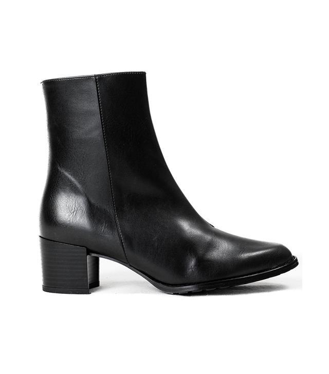 Bhava Studio Patti Ankle Boots
