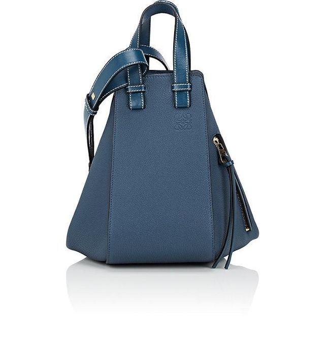 Women's Hammock Small Leather Bag