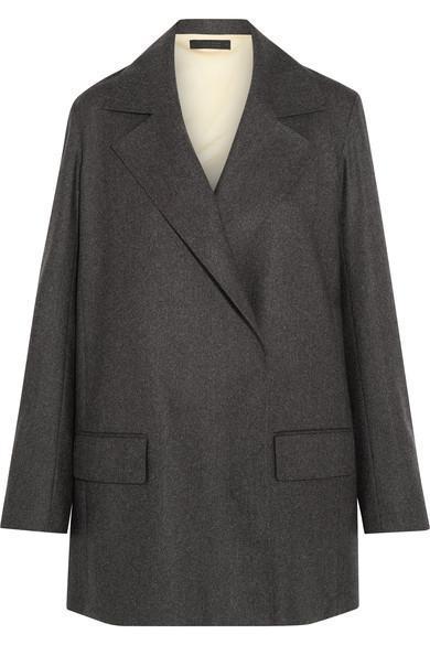 Grafny Oversized Wool-blend Felt Blazer