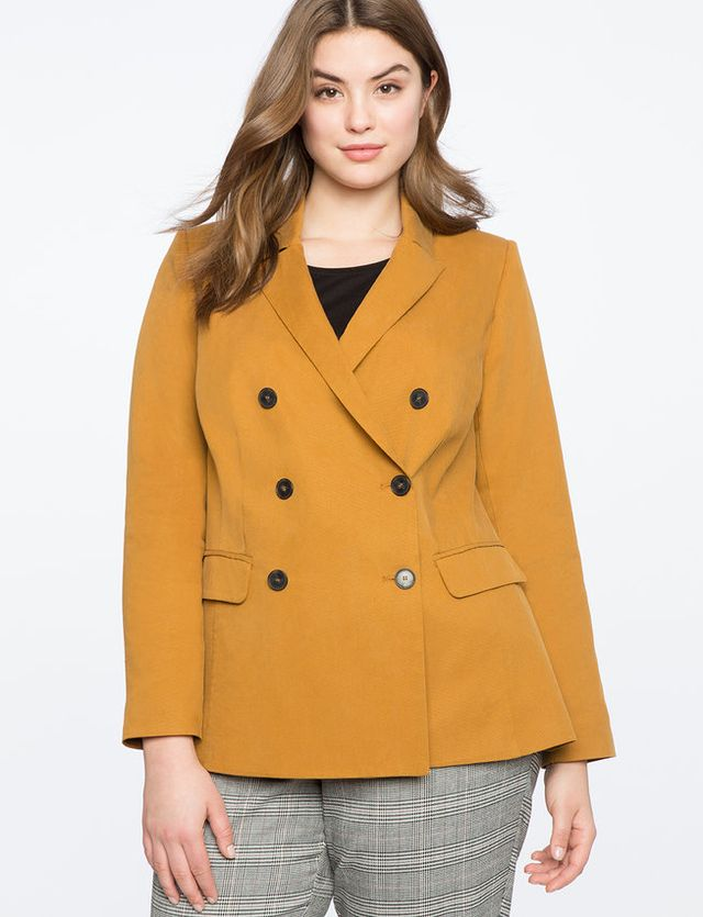 Eloquii Long Double Breasted Blazer