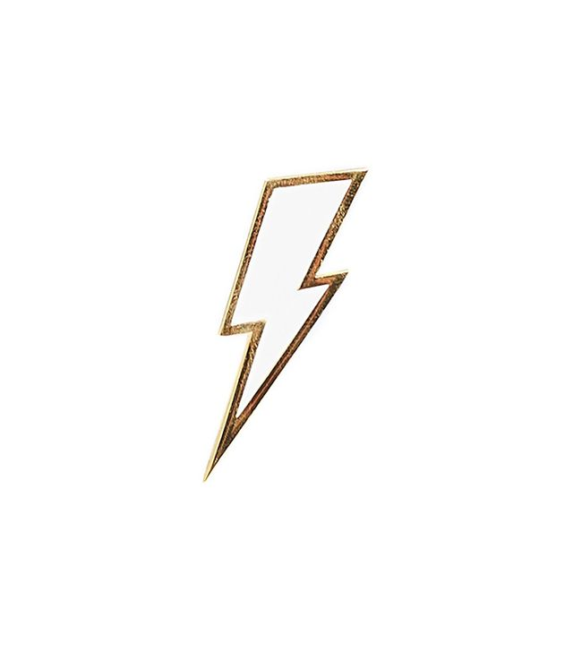Marc Jacobs Enamel Lightning Bolt Pin