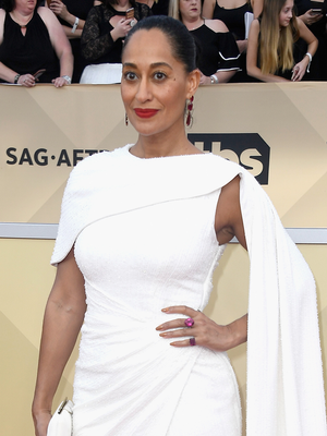Tracee Ellis Ross Stuns in Brilliant White on the Red Carpet