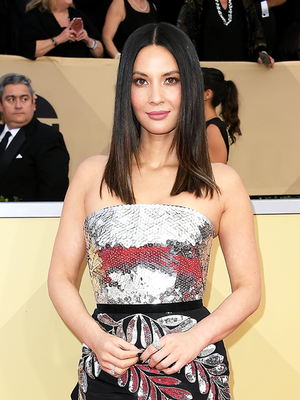 Why Olivia Munn Ordered Her SAG Awards Dress Online