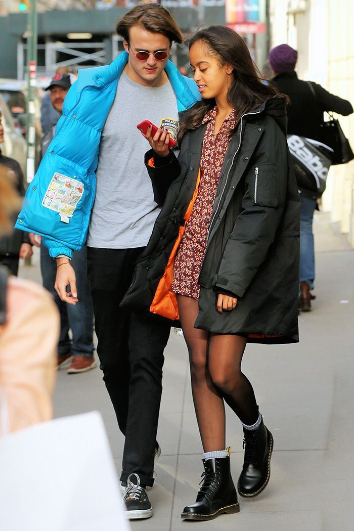 Malia Obama and Her Harvard Friend Out in NYC