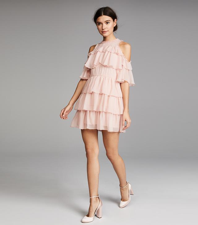 Nichola Ruffle Party Dress