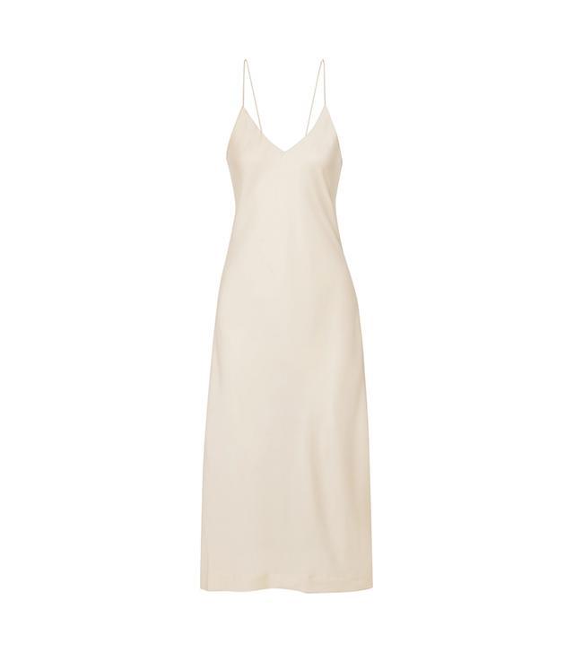Nicoles Stretch-silk Satin Midi Dress