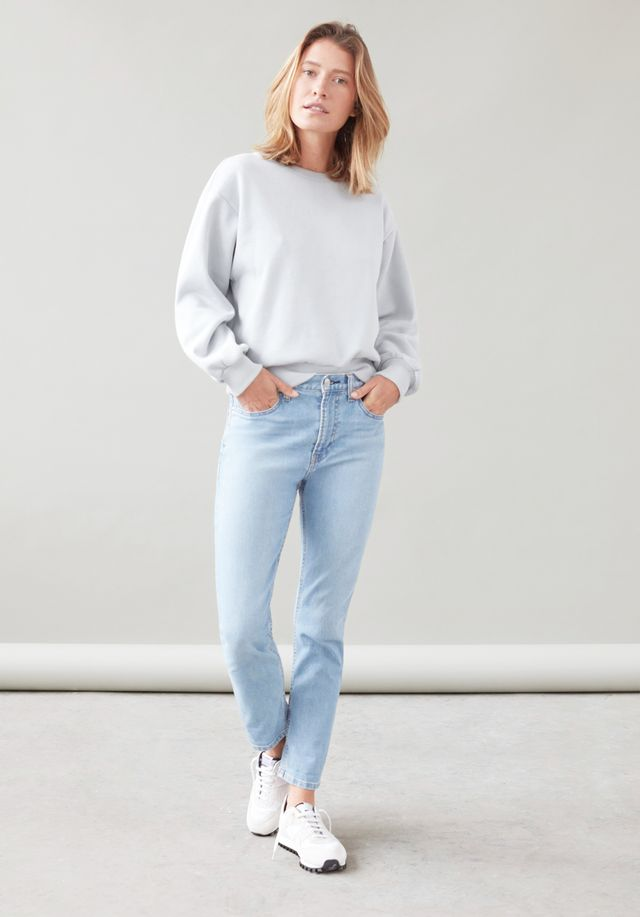 Everlane Modern Boyfriend Jeans in Light Blue Wash