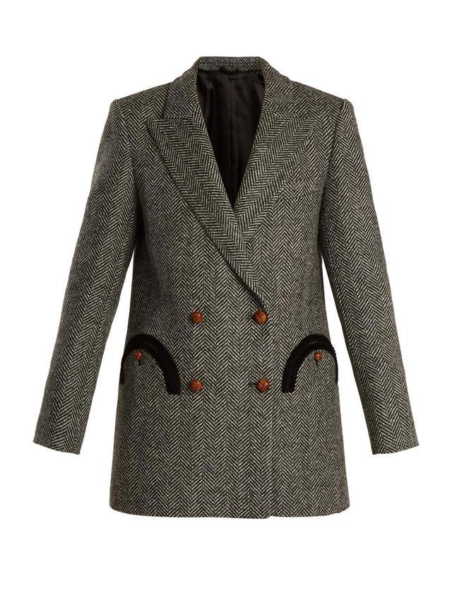 Lady Anne Herringbone blazer