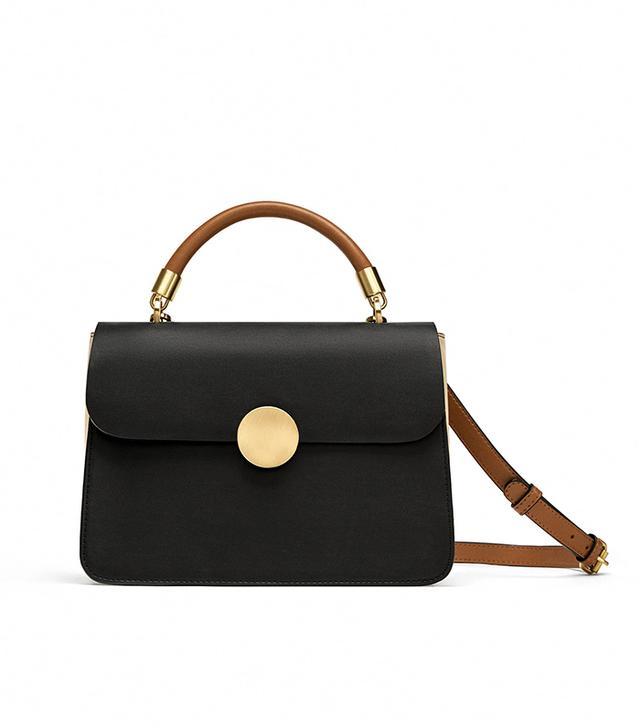 Zara Crossbody Bag With Handle Details