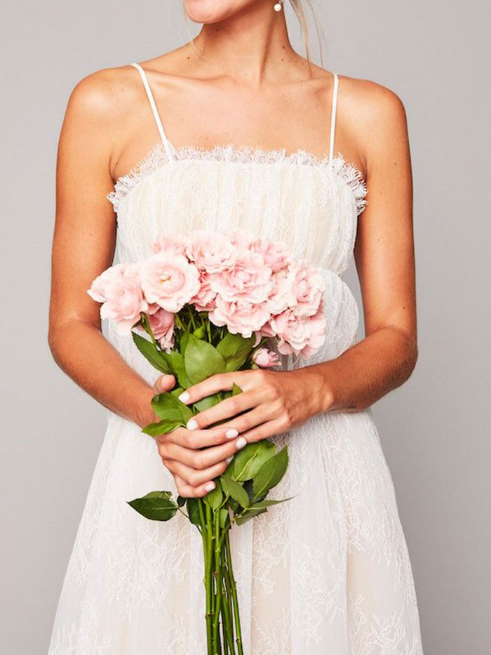 The Best Wedding Dress Style For Short Girls Who What Wear