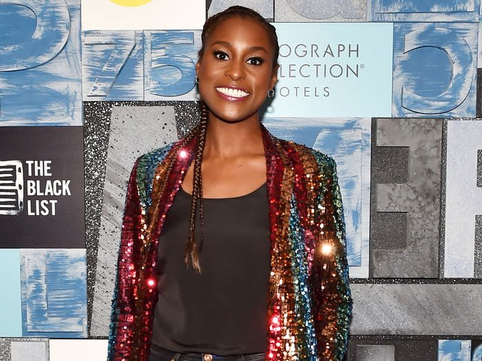Issa Rae Wore Sequins With Uggs—and Looks Great