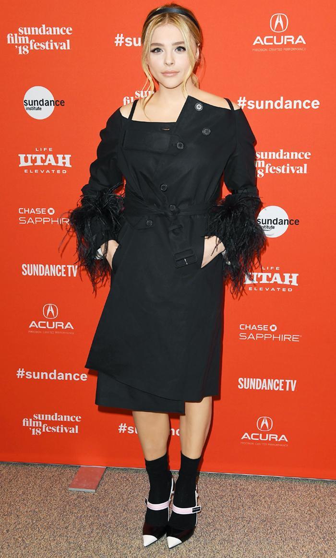 Chloe Moretz Prada at Sundance