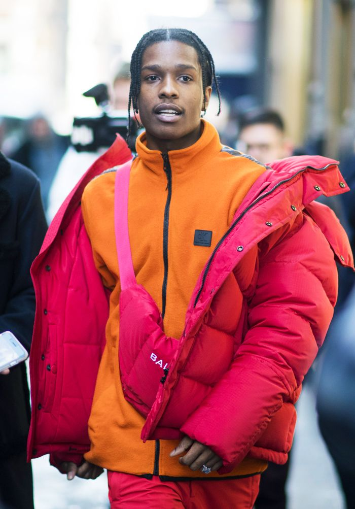 Stylish men: ASAP Rocky
