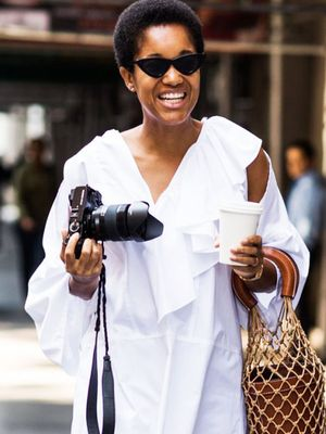 20 Chic White Blouses to Wear With Your Jeans