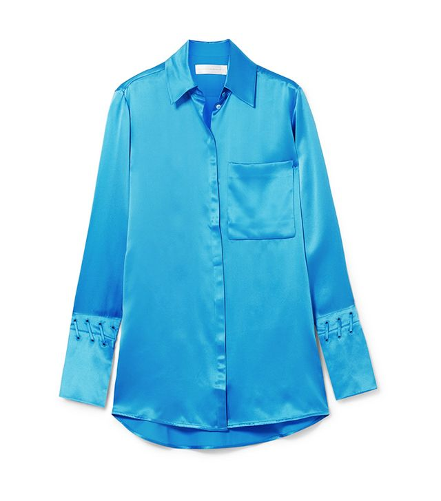 Silk-Satin Shirt