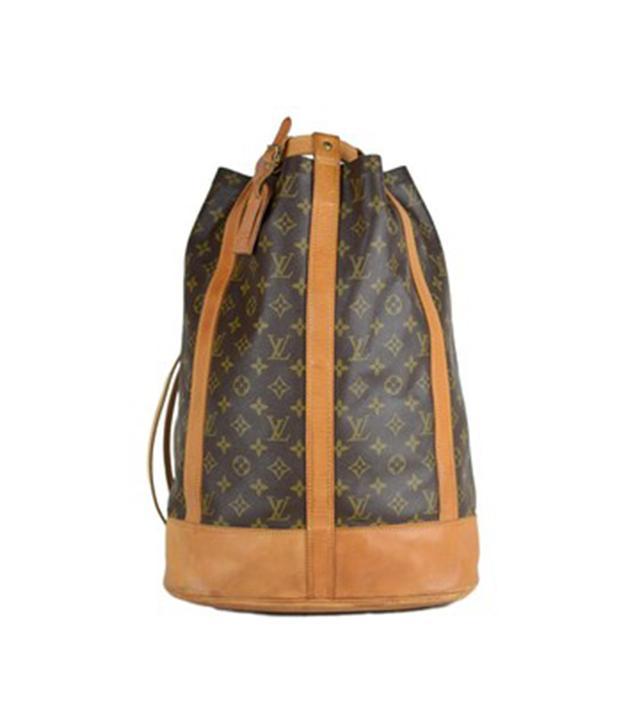 Louis Vuitton Brown Canvas Randonnee Backpack