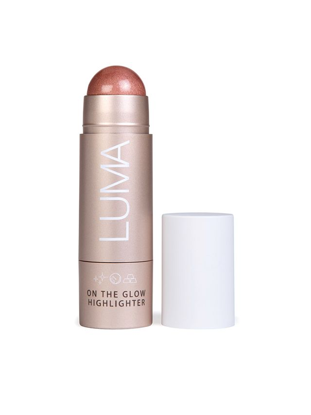 Luma Cosmetics On The Glow Highlighter in Blushed Nomad
