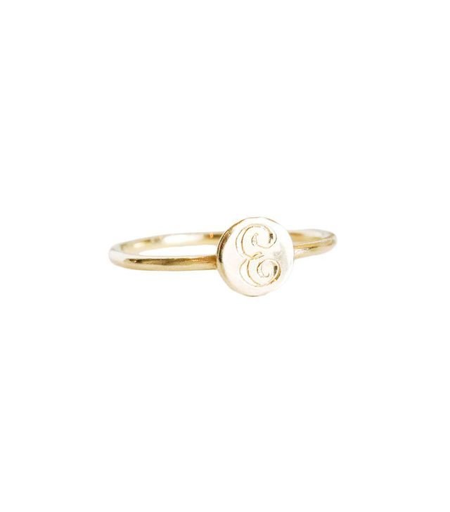 Consider the Wldflwrs Modern Signet Ring