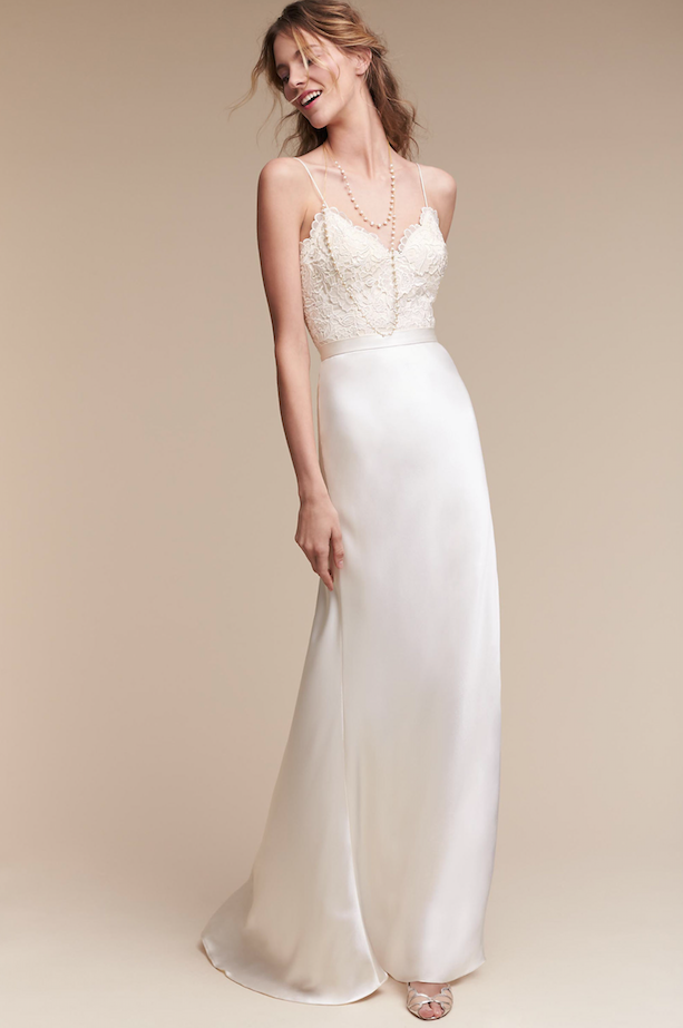 BHLDN Havana Corset Top and Mae Skirt