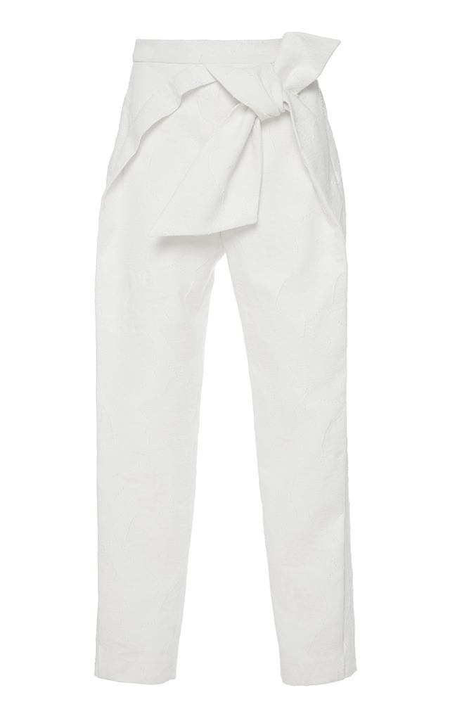 Tapered Bow Pant