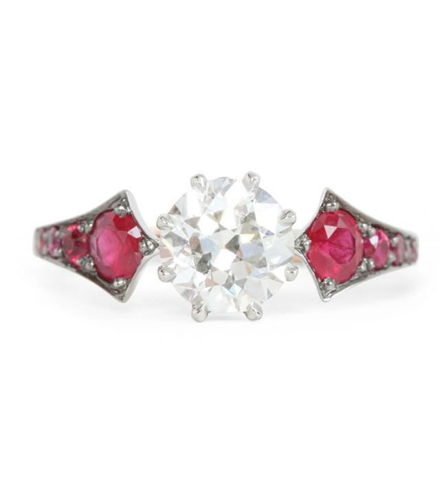 Erstwhile Ruby Wings Ring