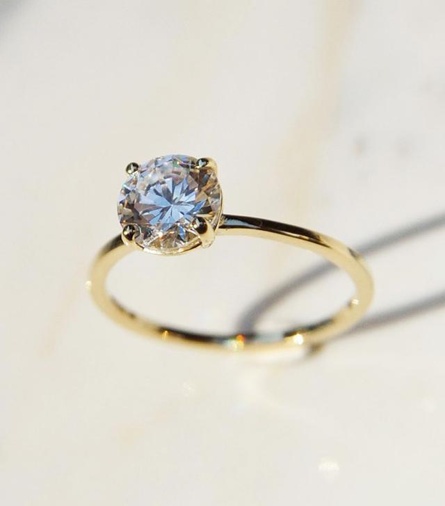 Après Jewelry The Stella Ring in 1 Ct. White Diamond