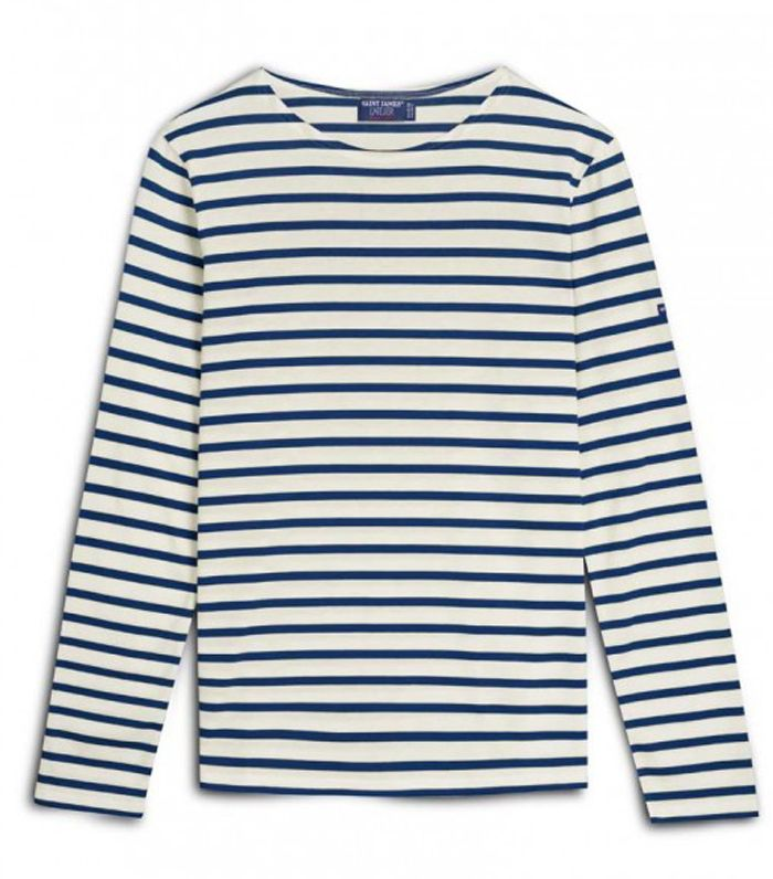 cost-per-wear: Saint James Guildo R Unisex Breton Striped Top