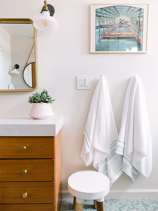 This dramatic bay area bathroom remodel is giving us life for Bathroom redesign app