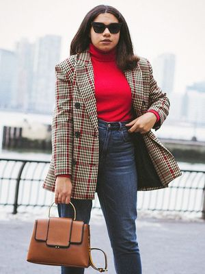 17 Ways to Wear a Blazer With Jeans to Work