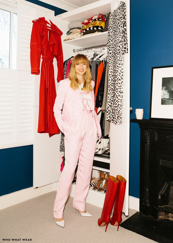 Net A Porter fashion director Lisa Aiken shares her wardrobe with Who What Wear UK