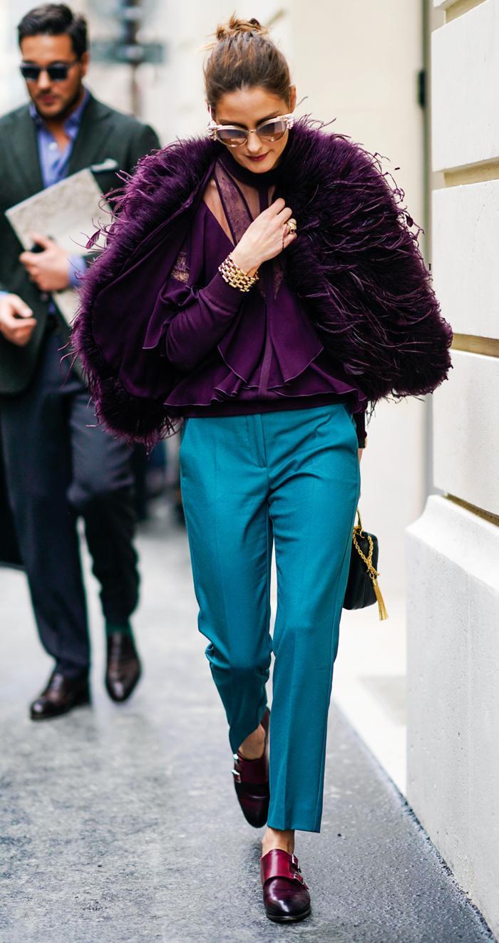 Olivia Palermo fashion week