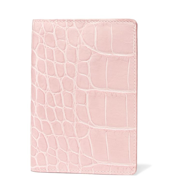 Croc-Effect Leather Passport Cover by The Case Factory