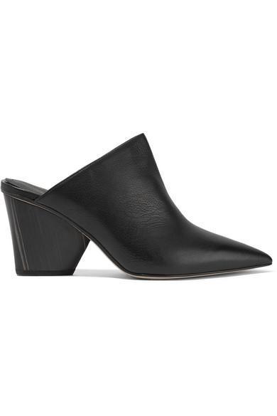 Ester Leather Mules