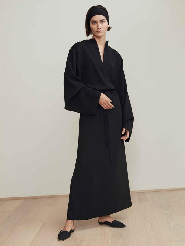 Totême Mirabel Dress in Black