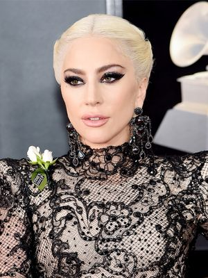 Lady Gaga Wore a Massive Diamond Ring on the Red Carpet