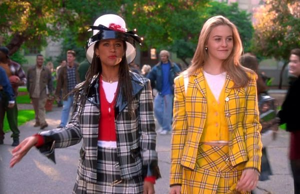 Cher and Dionne in Clueless wearing plaid