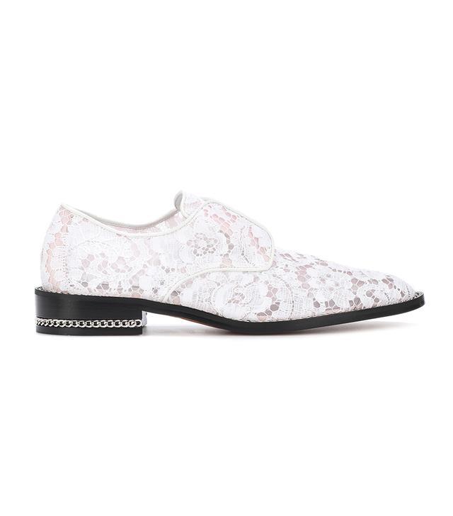 Derby Double Chain lace shoes