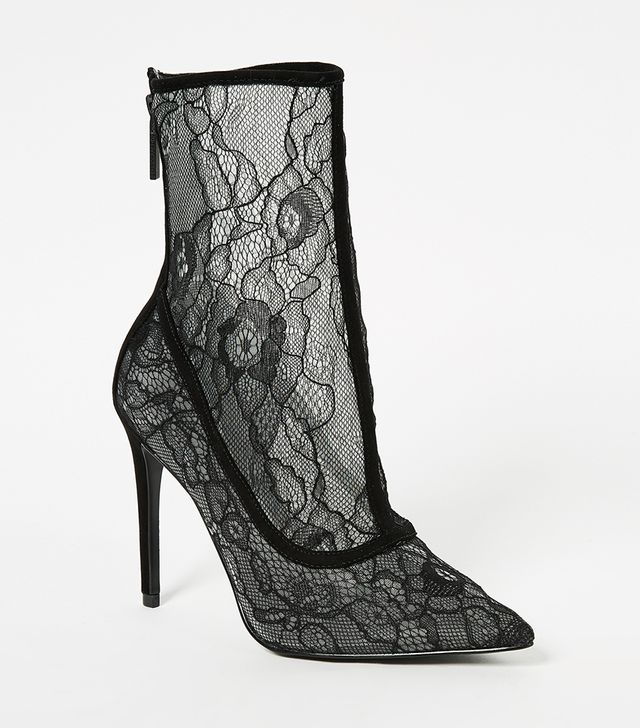Alanna Lace Booties