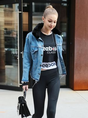 The Shirts Celebrities Love to Wear With Leggings