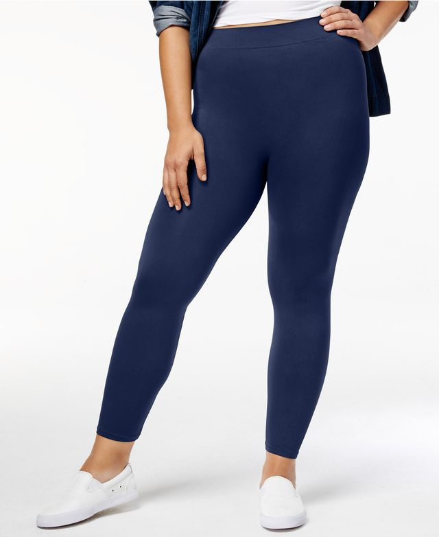 Plus Seamless Leggings, A Macy's Exclusive