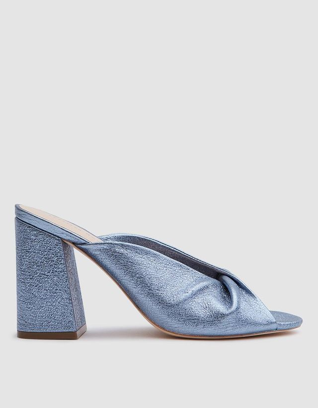 Laurel Heel in Metallic Splash