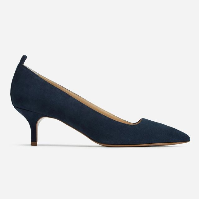 Women's Kitten Heel by Everlane in Navy, Size 10.5