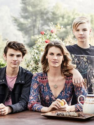 Step Inside the Serene Spanish-Style Home of Supermodel Mom Angela Lindvall